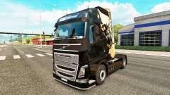 Dying Light skin for Volvo truck for Euro Truck Simulator 2