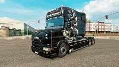 Dark Reaper skin for truck Scania T for Euro Truck Simulator 2