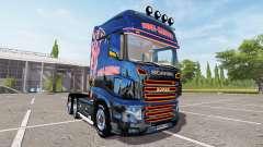 Scania R700 Evo Hugi Sandoz for Farming Simulator 2017