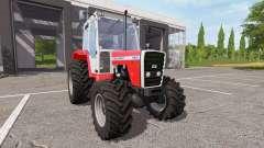 Massey Ferguson 698T v1.1 for Farming Simulator 2017