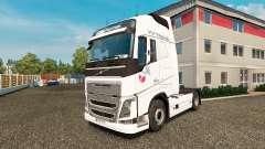 VV Trans skin for Volvo truck for Euro Truck Simulator 2