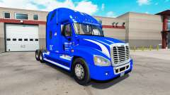 Skin Walmart on tractor Freightliner Cascadia for American Truck Simulator