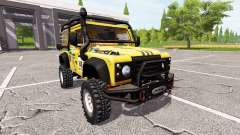 Land Rover Defender 90 Dakar for Farming Simulator 2017