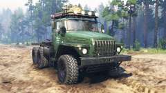 Ural-4320 tractor v2.0 for Spin Tires