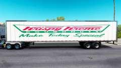 Skin Krispy Kreme on the trailer for American Truck Simulator