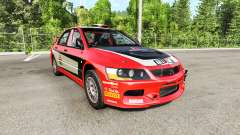 Mitsubishi Lancer Evolution IX 2006 v2.0 for BeamNG Drive