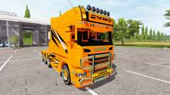 Scania R730 long toprun for Farming Simulator 2017