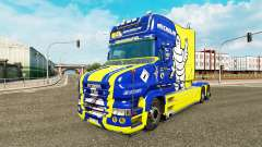 Michelin skin for truck Scania T for Euro Truck Simulator 2