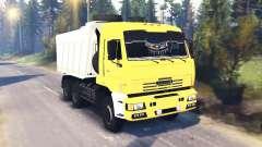 KamAZ-65111 v1.5 for Spin Tires