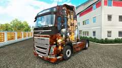 Sexy Steampunk skin for Volvo truck for Euro Truck Simulator 2