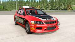 Mitsubishi Lancer Evolution IX 2006 remaster for BeamNG Drive