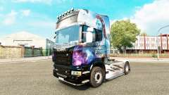 Avatar skin for Scania truck for Euro Truck Simulator 2