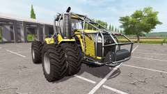 Challenger MT955E forest edition for Farming Simulator 2017