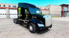 Monster Energy skin for the truck Peterbilt 579 for American Truck Simulator