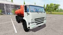 KAMAZ-43118 truck for Farming Simulator 2017