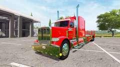 Peterbilt 388 flatbed v1.1 for Farming Simulator 2017
