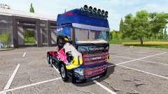 Scania R700 Evo Red Bull for Farming Simulator 2017
