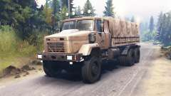 KrAZ-63221 for Spin Tires