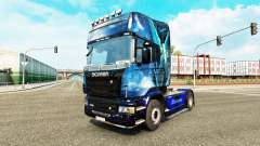 Blue Angel skin for Scania truck for Euro Truck Simulator 2