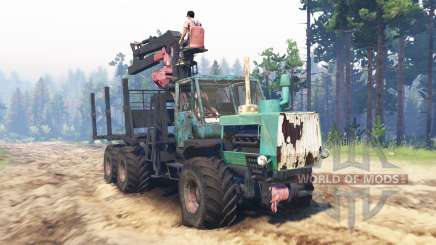 T-150K 6x6 for Spin Tires