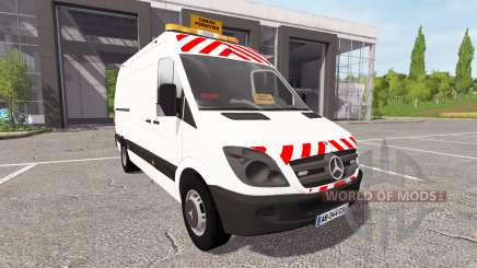 Mercedes-Benz Sprinter convoi forestier for Farming Simulator 2017