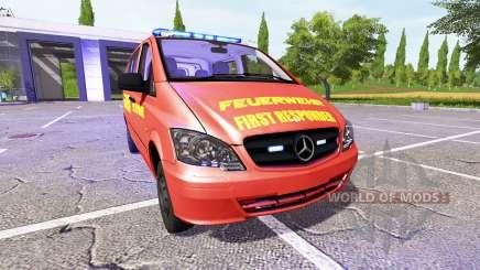 Mercedes-Benz Viano FR for Farming Simulator 2017