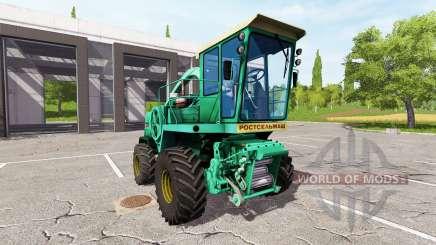 Rostselmash Don 680 for Farming Simulator 2017