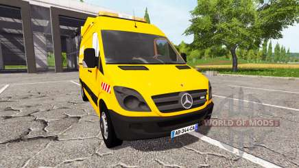Mercedes-Benz Sprinter dir sud-ouest for Farming Simulator 2017