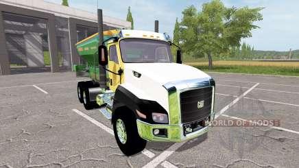 Caterpillar CT660 spreader for Farming Simulator 2017