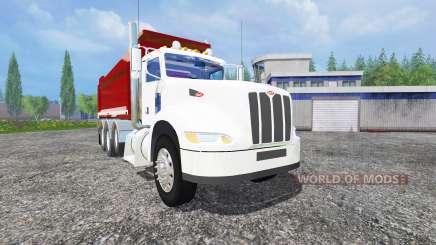 Peterbilt 384 dump for Farming Simulator 2015