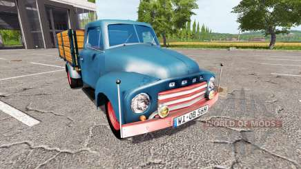 Opel Blitz 1956 for Farming Simulator 2017