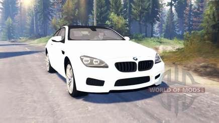 BMW M6 (F13) v2.0 for Spin Tires