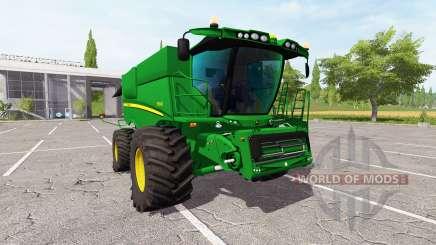 John Deere S690i v2.0 for Farming Simulator 2017