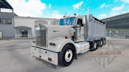 Kenworth W900 dump for American Truck Simulator