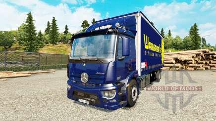 Mercedes-Benz Antos tandem for Euro Truck Simulator 2