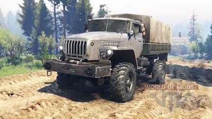Ural-43206 v2.0 for Spin Tires