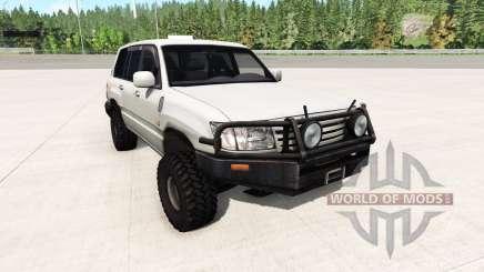 Toyota Land Cruiser 100 v0.5.2 for BeamNG Drive
