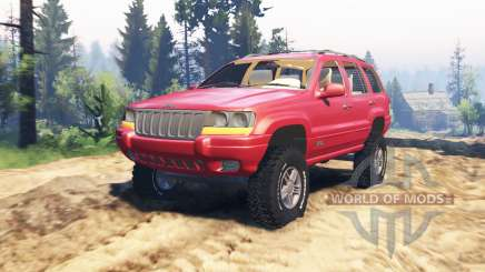 Jeep Grand Cherokee (WJ) v2.0 for Spin Tires