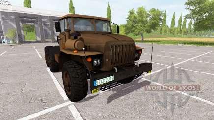 Ural-4320 tractor for Farming Simulator 2017