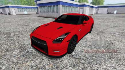 Nissan GT-R (R35) for Farming Simulator 2015