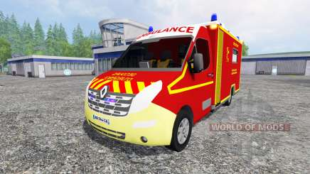 Renault Master Ambulance for Farming Simulator 2015