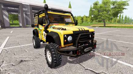 Land Rover Defender 90 Dakar for Farming Simulator 2017