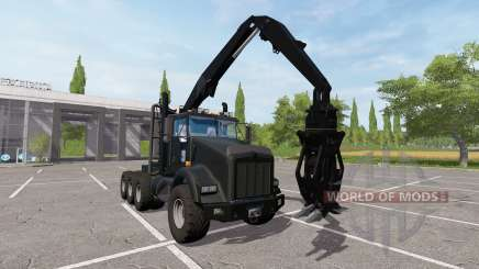 Kenworth T800 self loader for Farming Simulator 2017