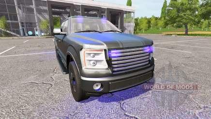Lizard Pickup TT Unmarked Police for Farming Simulator 2017