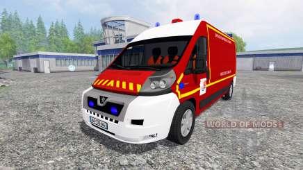 Peugeot Boxer VPL for Farming Simulator 2015