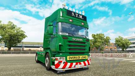 Scania R730 danmark class edition v1.15 for Euro Truck Simulator 2