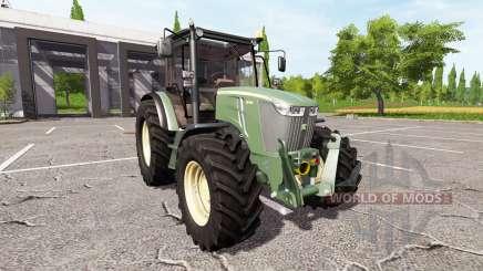 John Deere 5085M v1.5 for Farming Simulator 2017