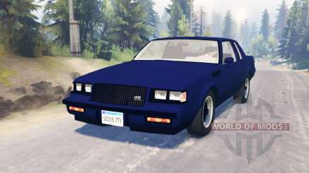 Buick GNX 1987 for Spin Tires