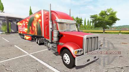 Lizard TX 415 Barrelcore Coca-Cola for Farming Simulator 2017