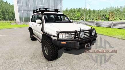 Toyota Land Cruiser 100 v0.5.3 for BeamNG Drive